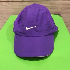 Purple Nike Dri-fit hat
